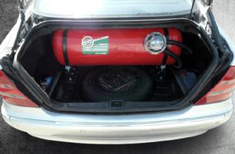 балон газа в авто